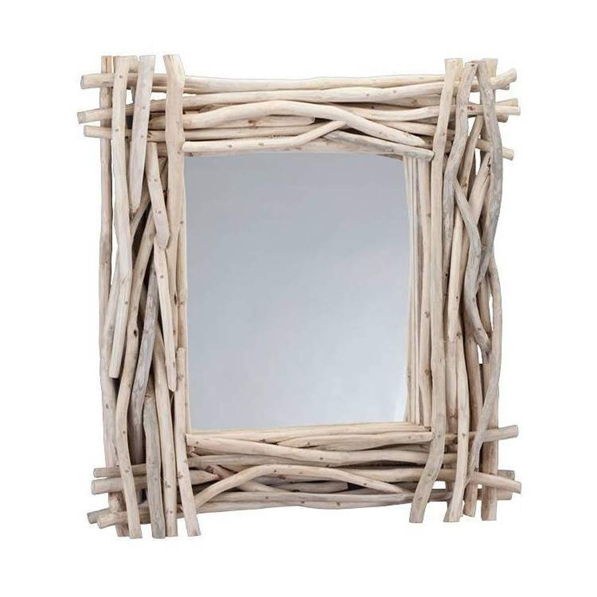 CIPI Suar Specchio Design Accessori Arredo Casa Legno Vetro