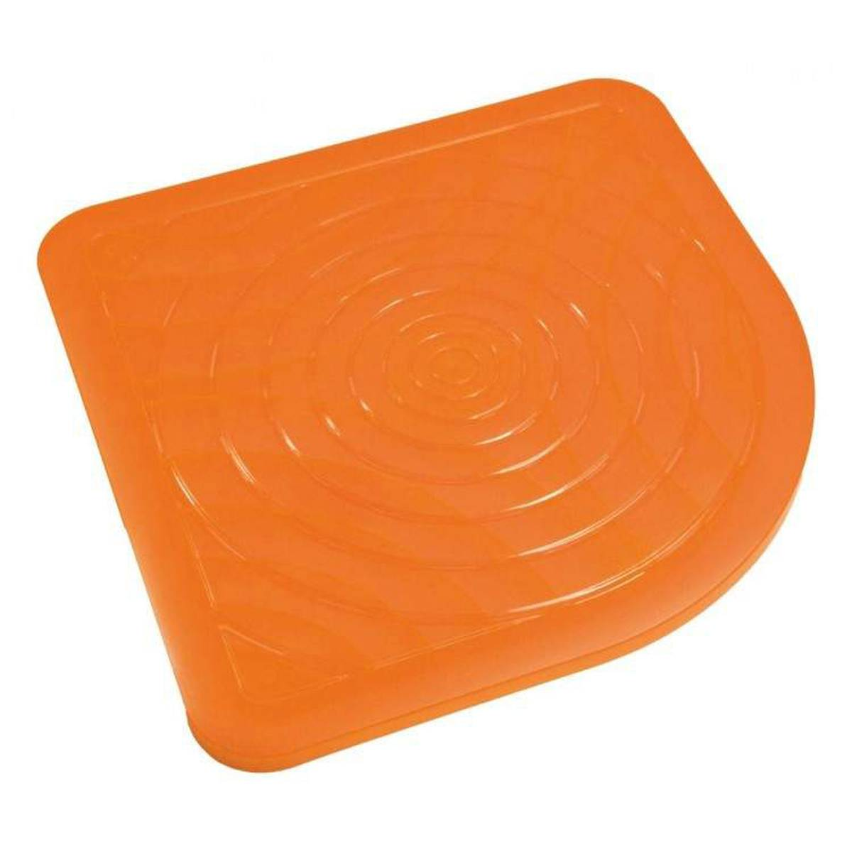Pedana doccia Oasi arancio antiscivolo design made in italy