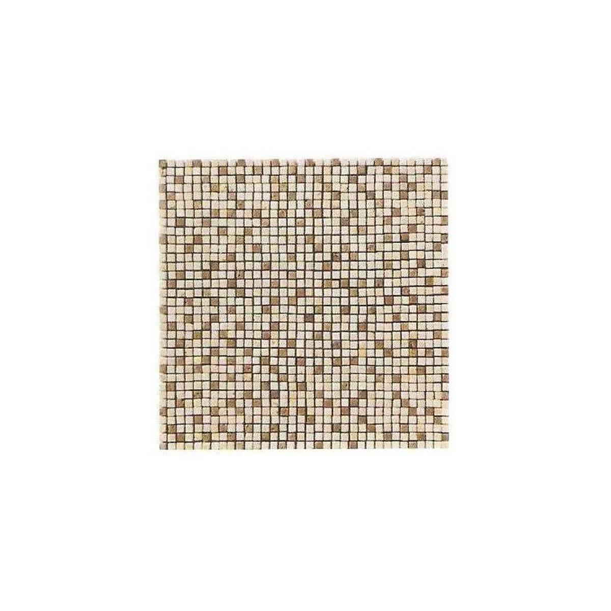 Mosaico micro travertino