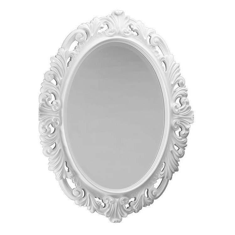 Cipi specchio kent legno e schiuma poliuretano decorato - Specchio ovale ikea ...