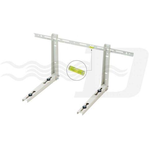 Staffa mensola per unità esterna condizionatori portata 100 Kg