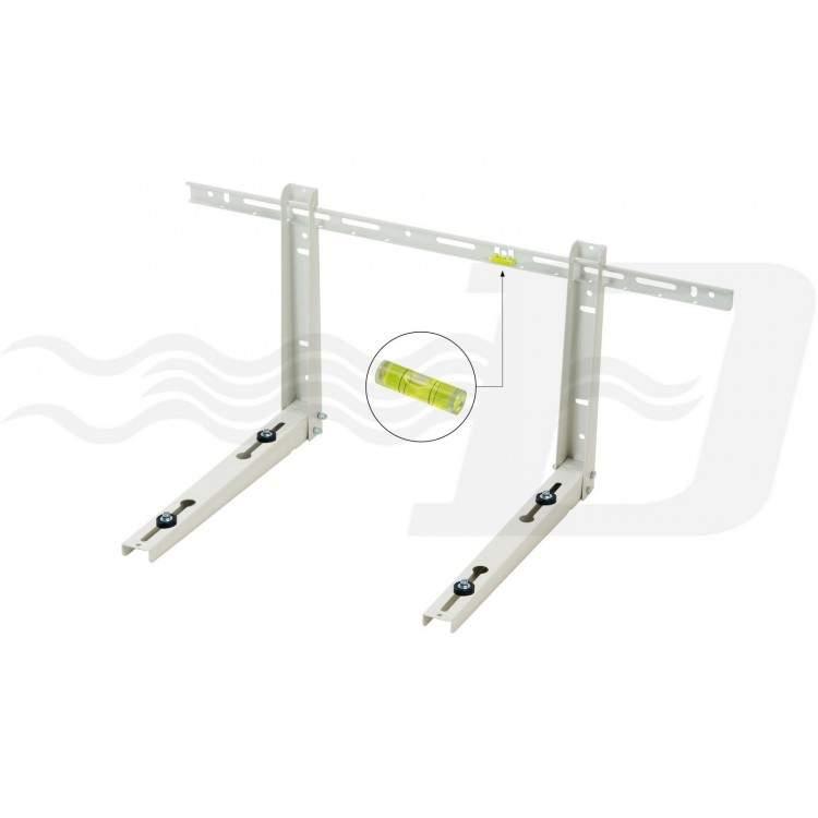 Staffa mensola per unità esterna condizionatori portata 80 Kg