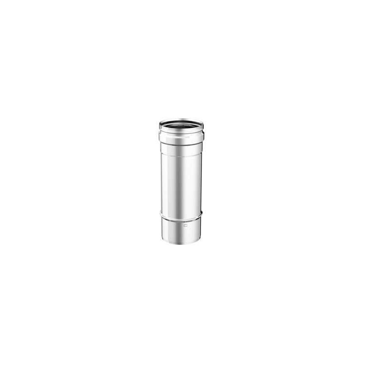 APROS Dynamic One - Tubo lineare T100 ø80 in acciaio inox monoparete aisi 316L