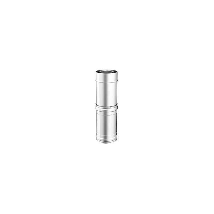 APROS Dynamic Two-Telescopico TELE ø80 acciaio inox doppia parete 316L/304BA