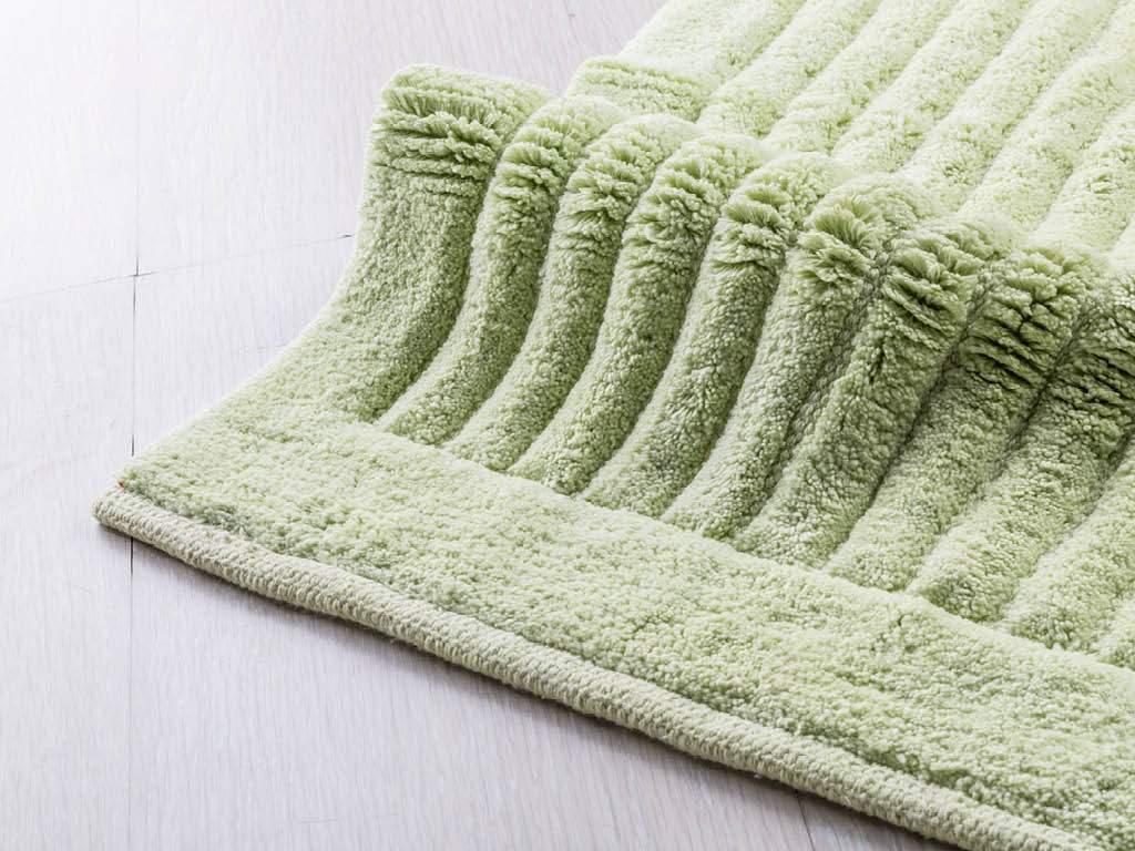 Cipi tappeto softy verde cotone 100 soffice colore - Ikea tappeti bagno ...